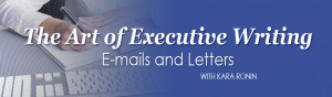 The Art of Executive Writing E-mails and Letters