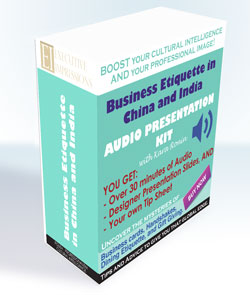 Audio Presentation Kit: Business Etiquette in China and India