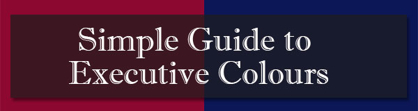 Simple guide to executive colours