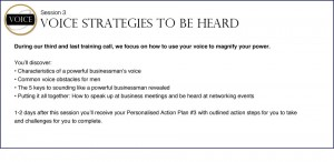Powerful In Business For Men - Voice Strategies to Be Heard