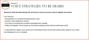 Powerful In Business For Women - Voice Strategies to Be Heard