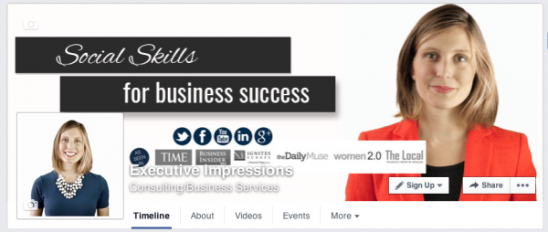 Executive Impressions Facebook Etiquette Tips