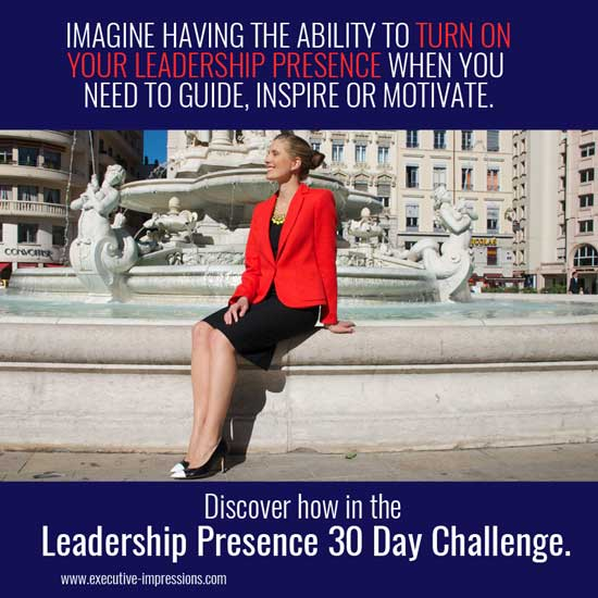 Leadership Presence 30 Day Challenge