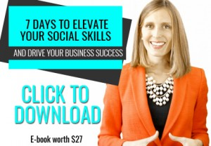 Elevate your social skills e-book