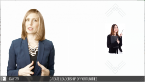 Leadership Presence 30 Day Challenge Video Course