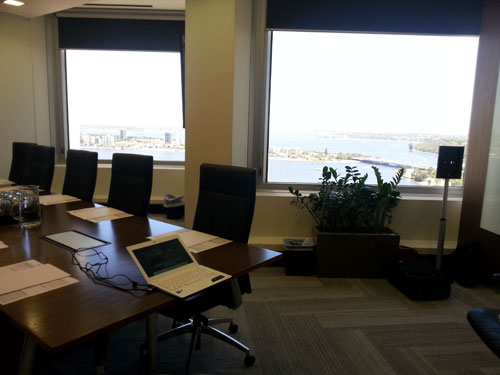 Leadership Presence Masterclass Room View