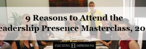 Reasons to attend the Leadership Presence Masterclass in 2020